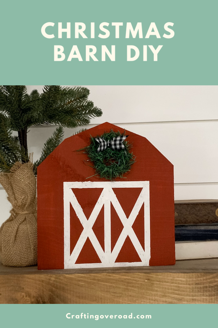 Farmhouse Christmas Barn Tutorial