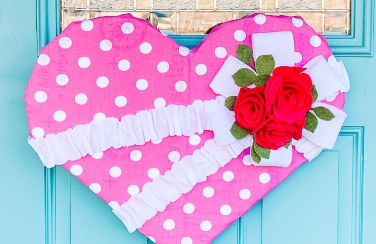 Valentine Door Hanger Tutorial