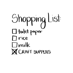 funny shopping list