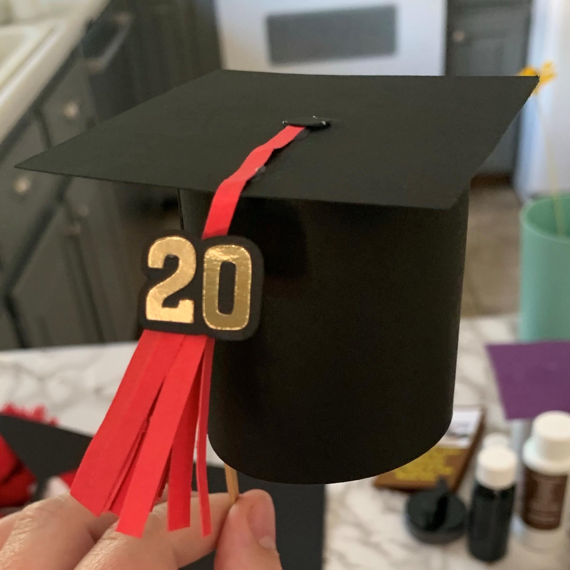 graduation cap SVG dfx png